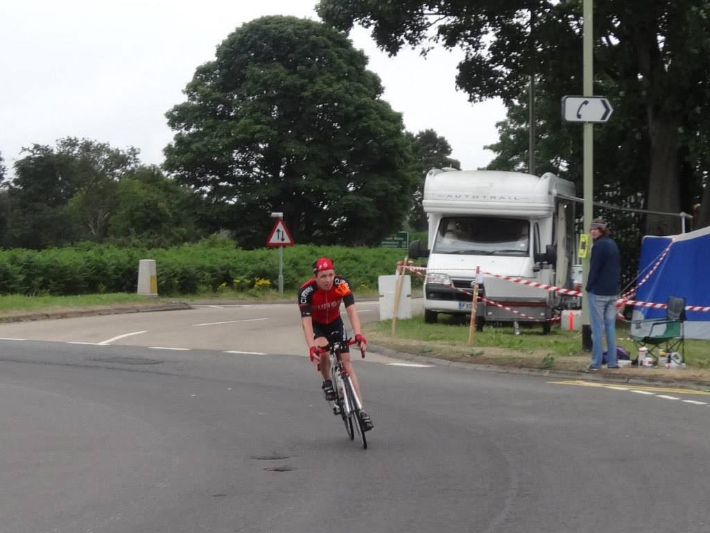 Mersey roads 24 hour time trial, Prees Heath