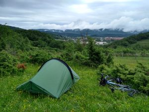 First night in Spain, first night camping in a randommer's field
