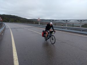 The last mountain pass in Spain. Can I have some warmth now please?