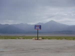 "Highway 50 in Nevada and Utah, ""The Loneliest Highway in America"""