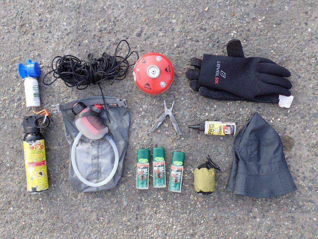 Alaska ditch kit: I don't need this stuff anymore