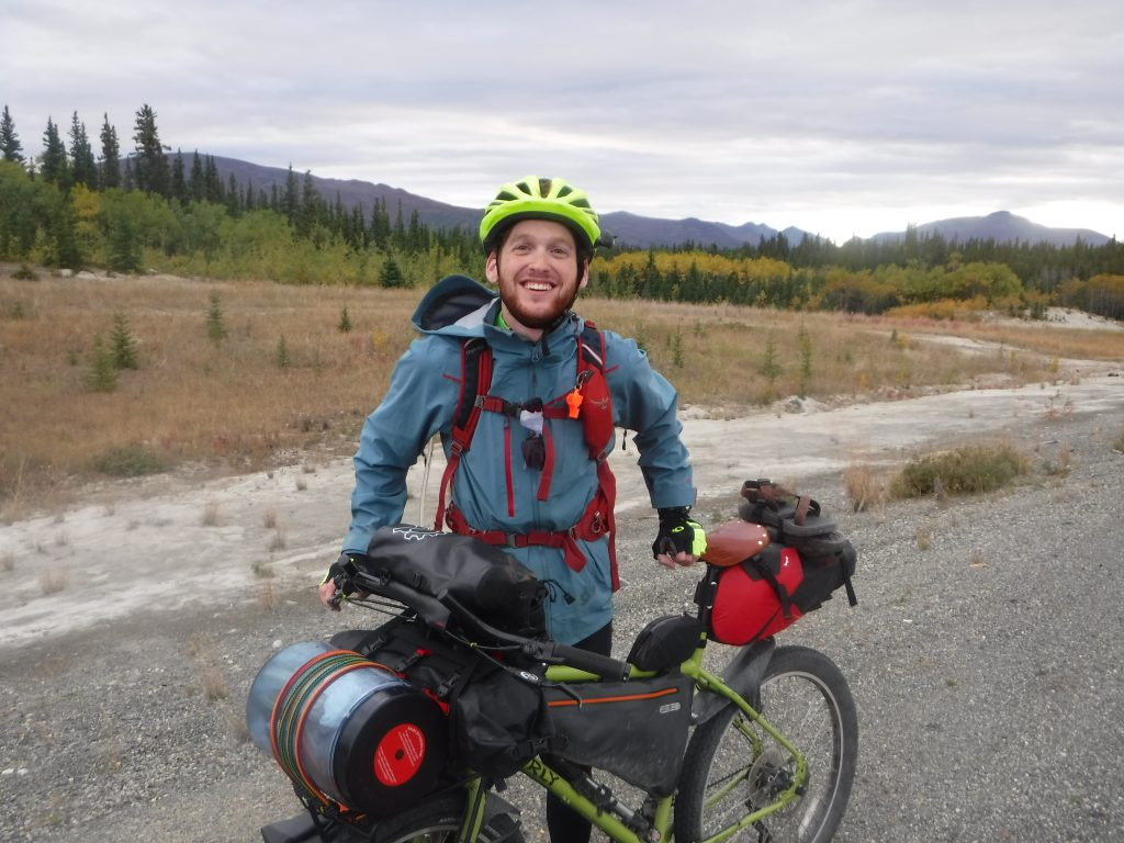 Meet Benji Pollock, a Philly native who I met in the Yukon. He's heading south for Argentina, just like everyone else round here. Follow him at www.endtofin.com
