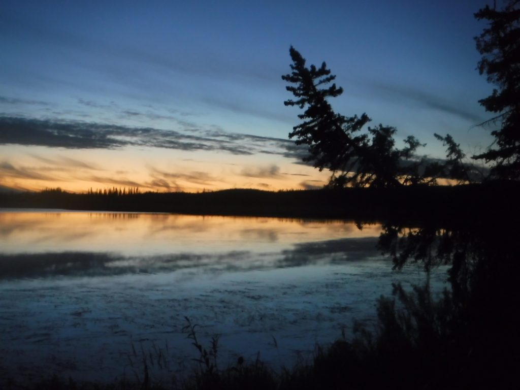 Alaska by night