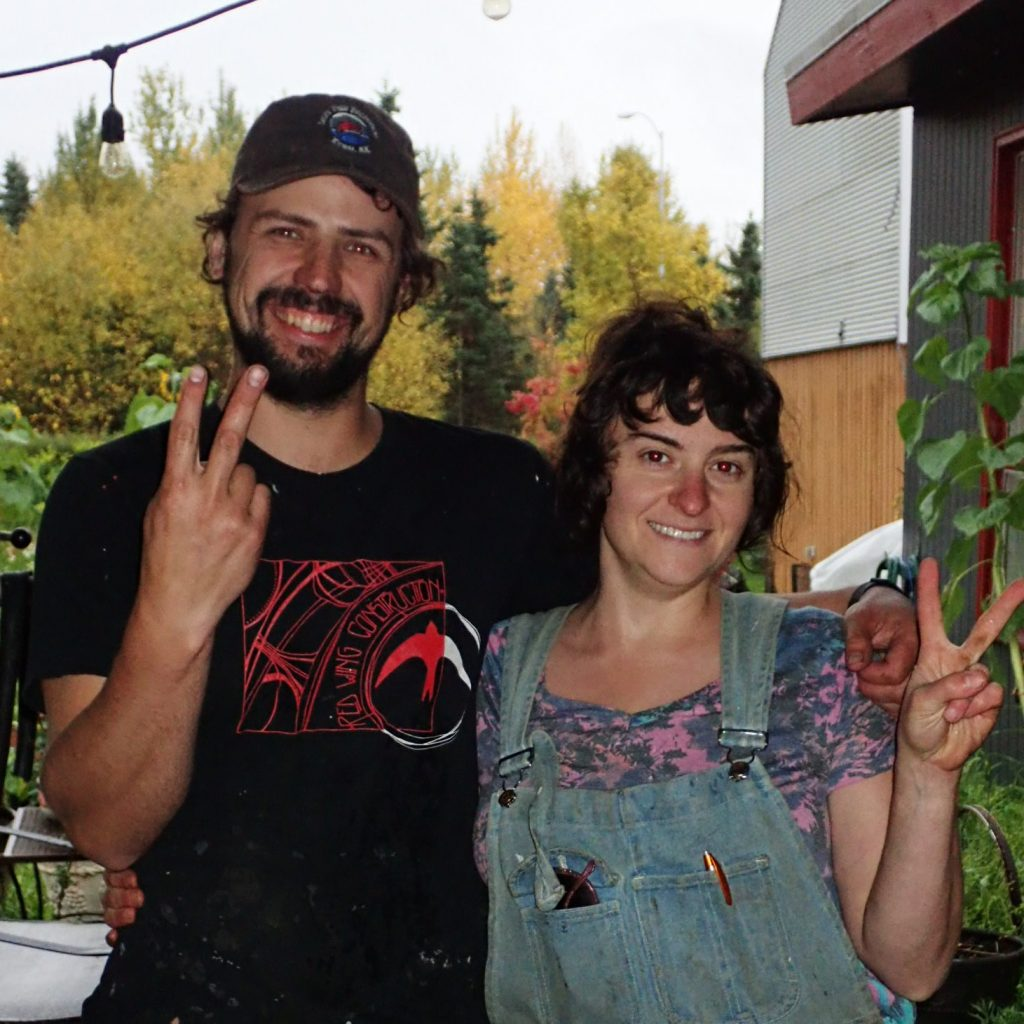 Stephen and Sarah, my hosts in Anchorage
