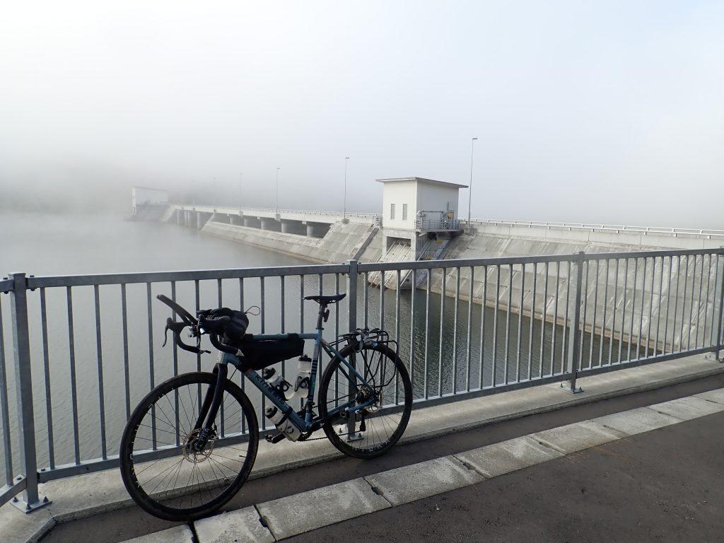 Early morning mist in Hokkaido