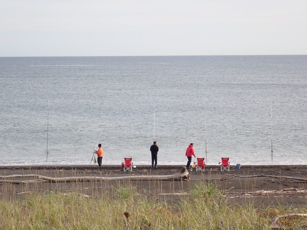 Fishing in the Sea of Okhotsk