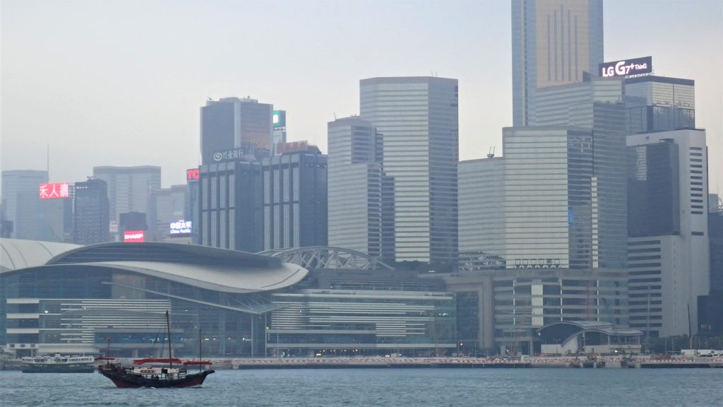 Hong Kong - the view from the Star Ferry