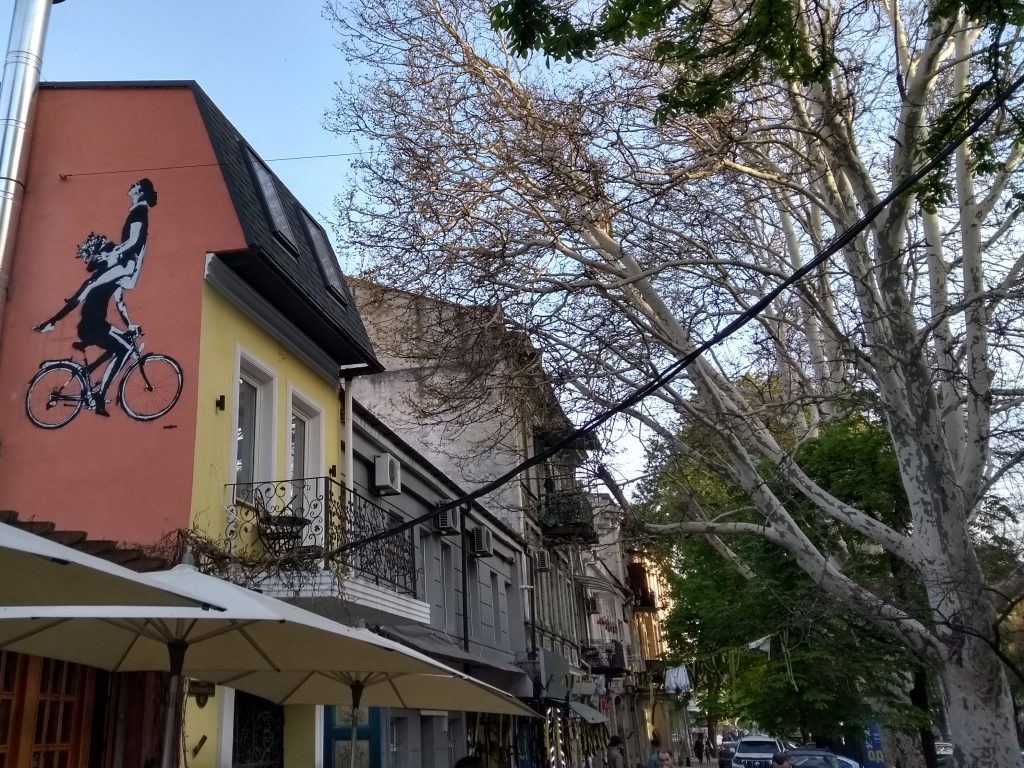Odessa lesbian street art