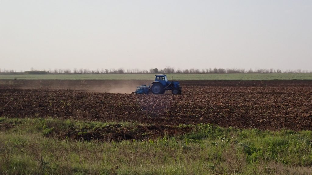 A History of Tractors in Ukrainian