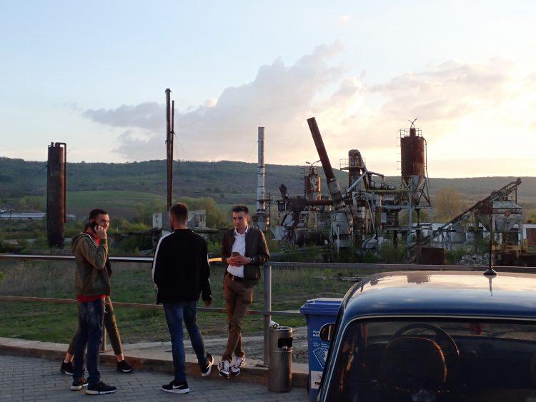 Rusting factories in Moldova