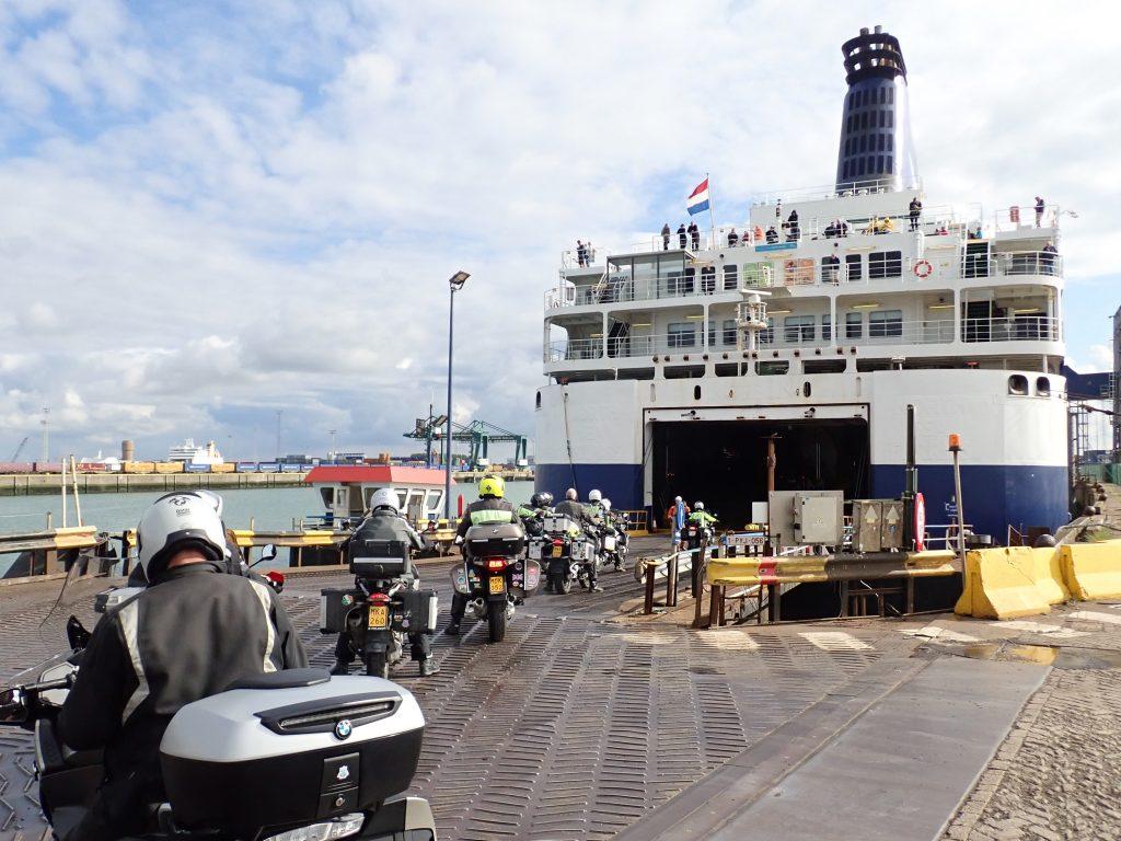 Hull Zeebrugge P&O Ferry